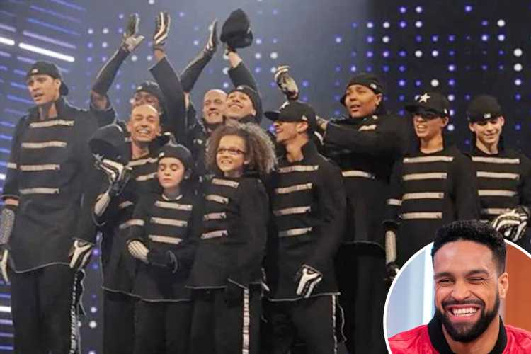 Diversity's Ashley Banjo promises explosive performance for Britain's Got talent final as he shares throwback to dance group's win 10 years ago
