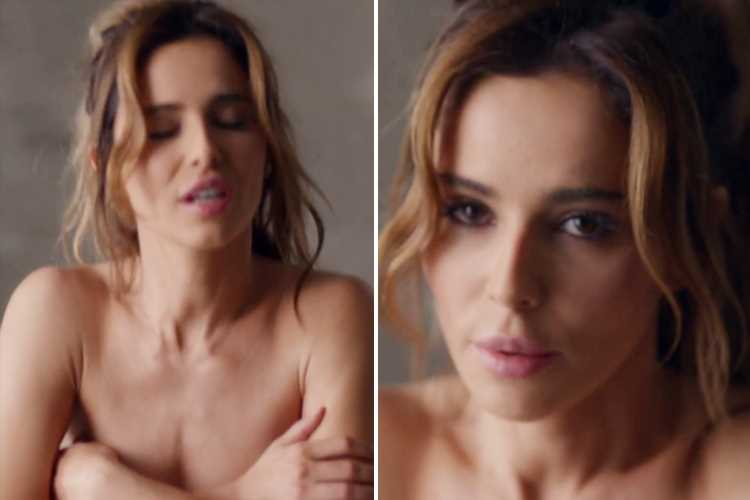 Cheryl strips topless for new music video fans are convinced is about sex with Liam Payne