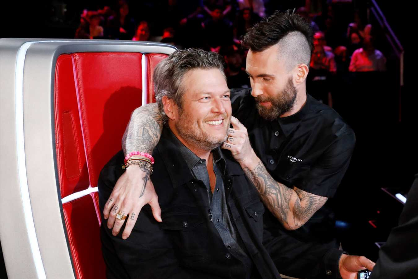 Voice Coaches React to Adam Levine's Exit: Blake Shelton Is 'Gonna Miss Working with That Idiot'