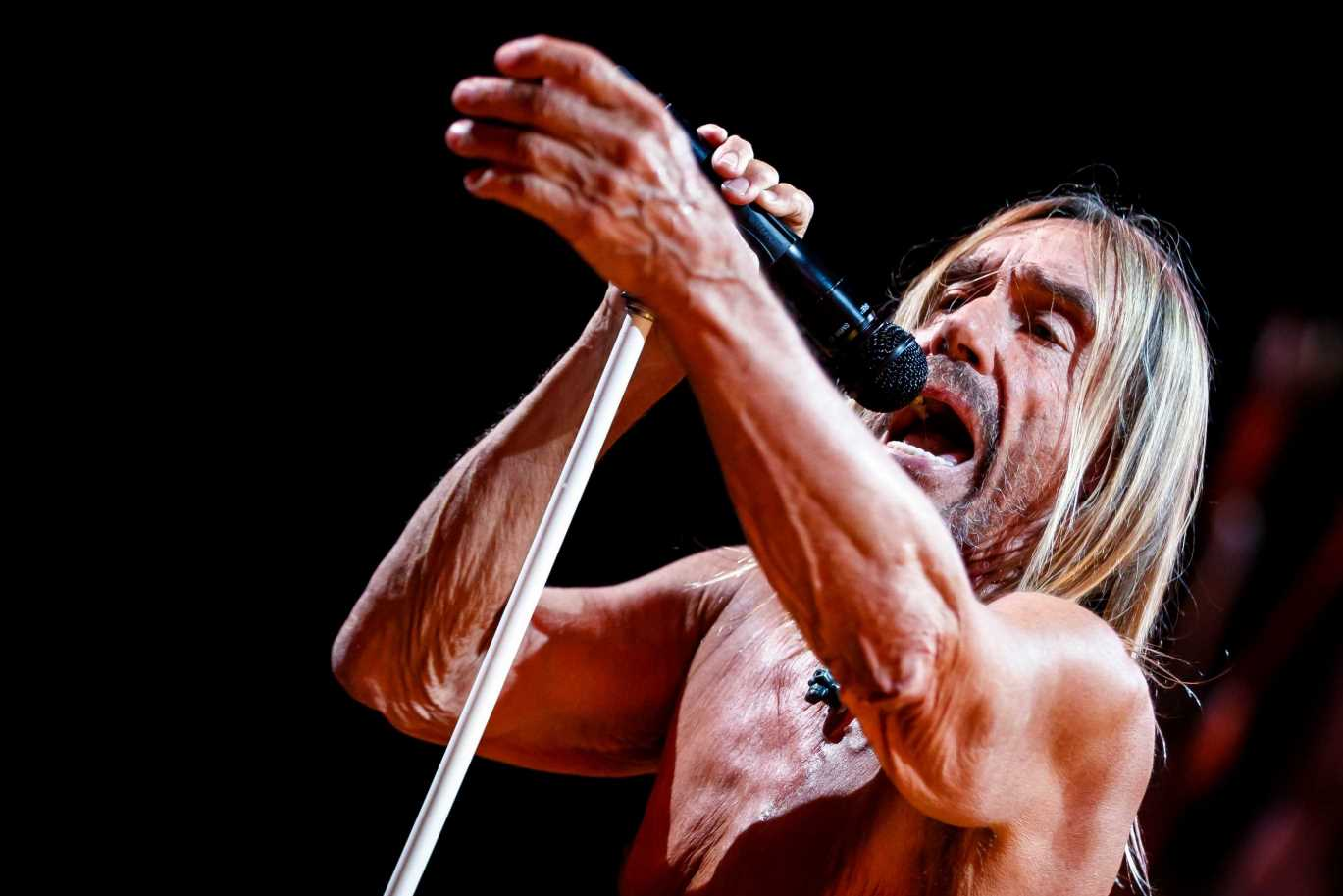 Iggy Pop To Release Book of Lyrics and Photos in October