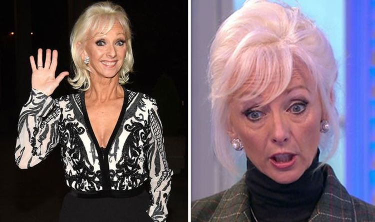 Debbie McGee: 'Don't look at me!' Strictly star left stunned by co-host's wardrobe mishap
