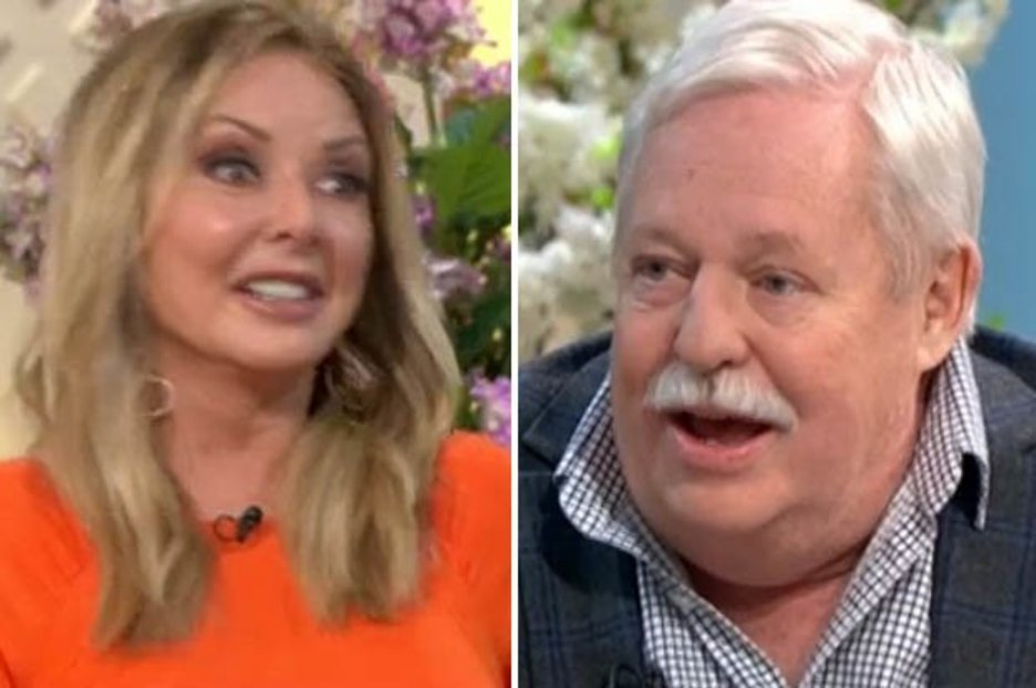 Carol Vorderman left shocked as guest makes crude 'three-way' comment