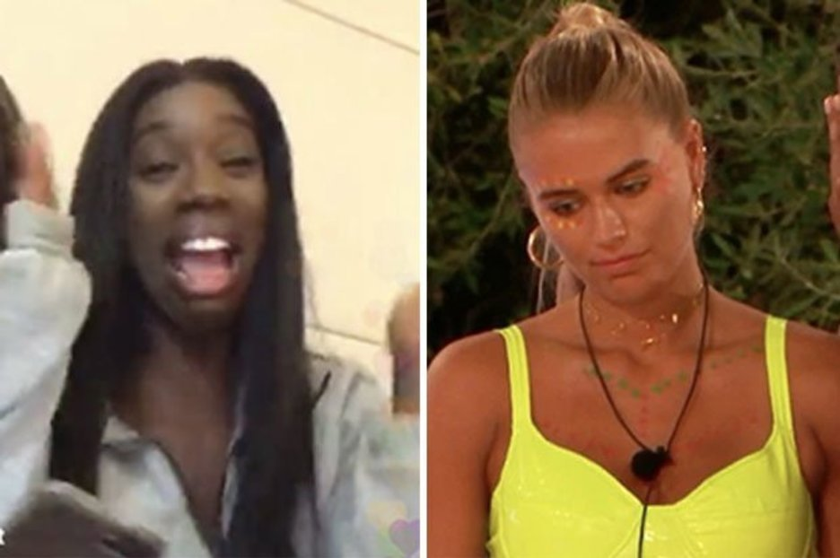Love Island's Yewande has fans in hysterics over Arabella exit live stream reaction