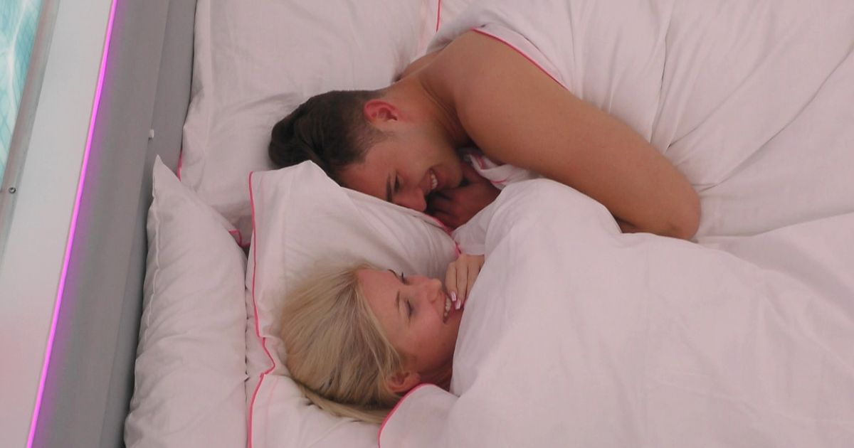 Love Island spoiler – first couple get intimate under the covers