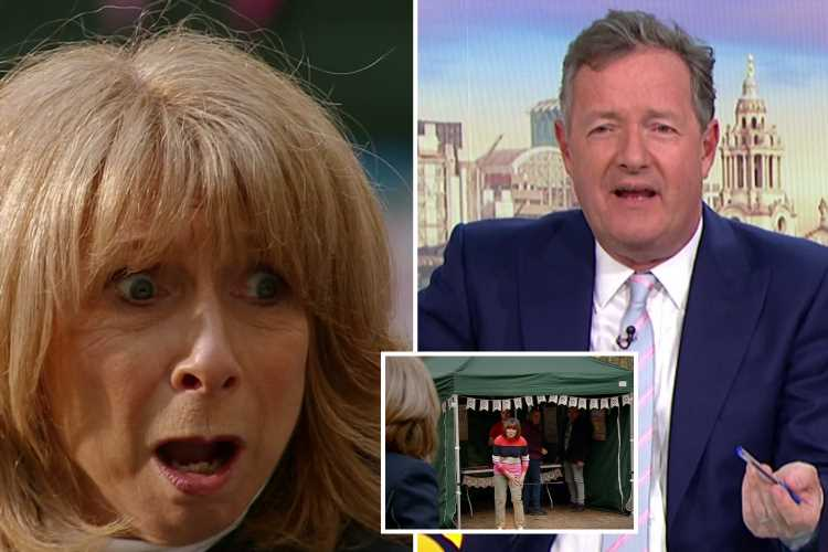 Piers Morgan hits out at Coronation Street 'serial killer' Gail Platt after she threatened him and 'attempted to kill' Lorraine Kelly