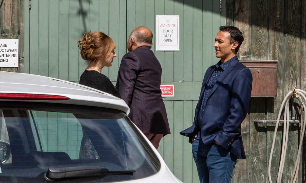 Emmerdale spoilers: Jai Sharma and Laurel Thomas' affair exposed as they are caught romping in the factory