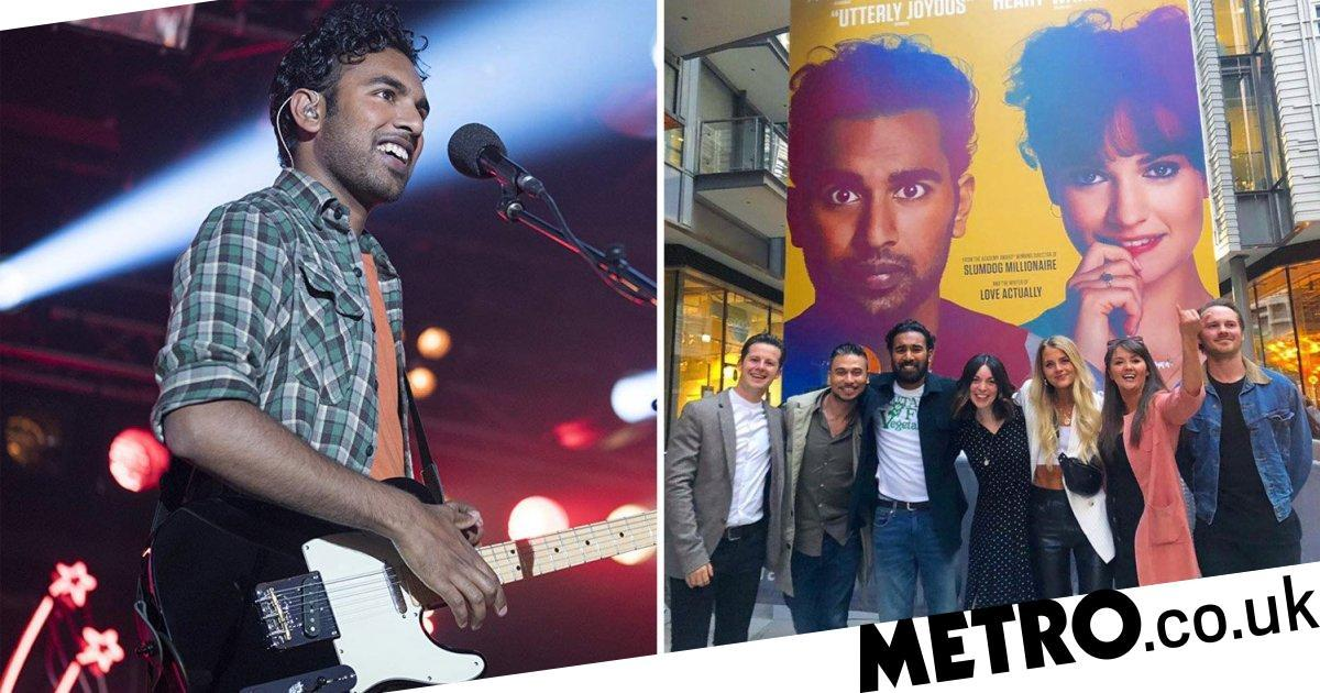 EastEnders cast enjoy reunion to celebrate Himesh Patel's new Hollywood role