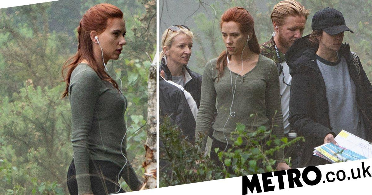 Scarlett Johansson spotted filming first scenes of Black Widow spin-off
