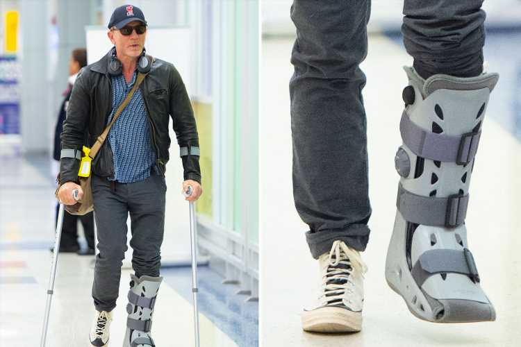 Daniel Craig fears he may struggle to run at full speed in James Bond film following ankle operation – The Sun
