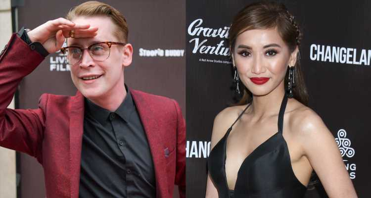 Macaulay Culkin & Girlfriend Brenda Song Step Out Together for 'Changeland' Premiere!