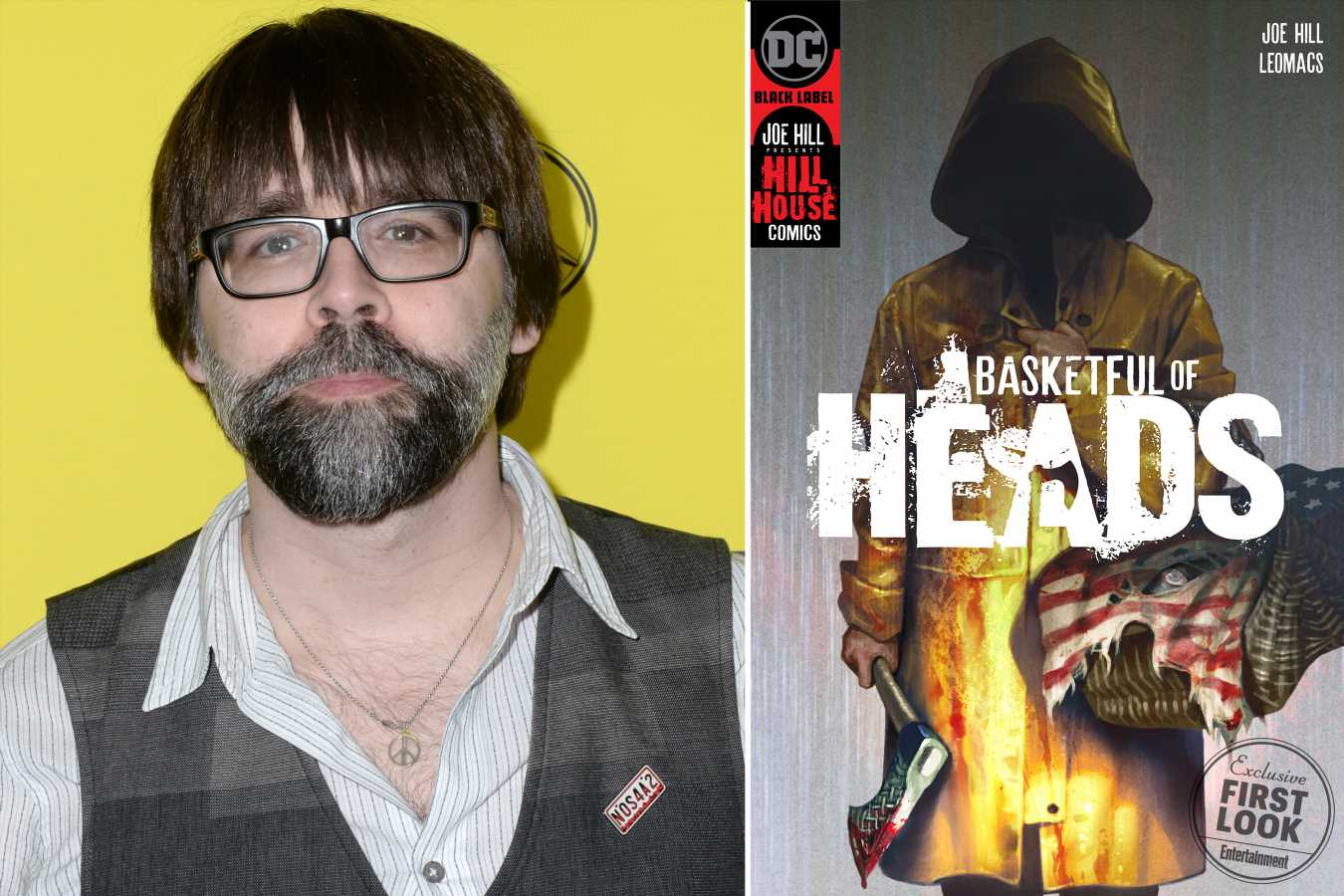 Joe Hill to launch horror line Hill House Comics at DC
