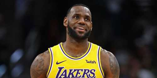 LeBron James Hugs This Sports Star on the Set of 'Space Jam 2′ – See the Pic!