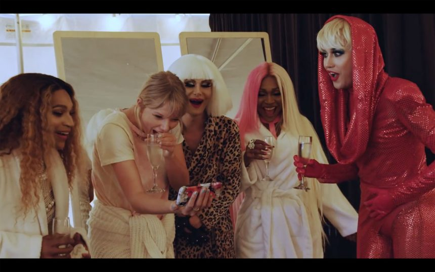Taylor Swift Fangirls Over Drag Queens In 'You Need To Calm Down' Behind-The-Scenes Video!
