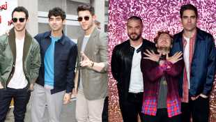 The Jonas Brothers Perform 'Year 3000' With Busted For The First Time Ever & Fans Can't Contain Their Excitement