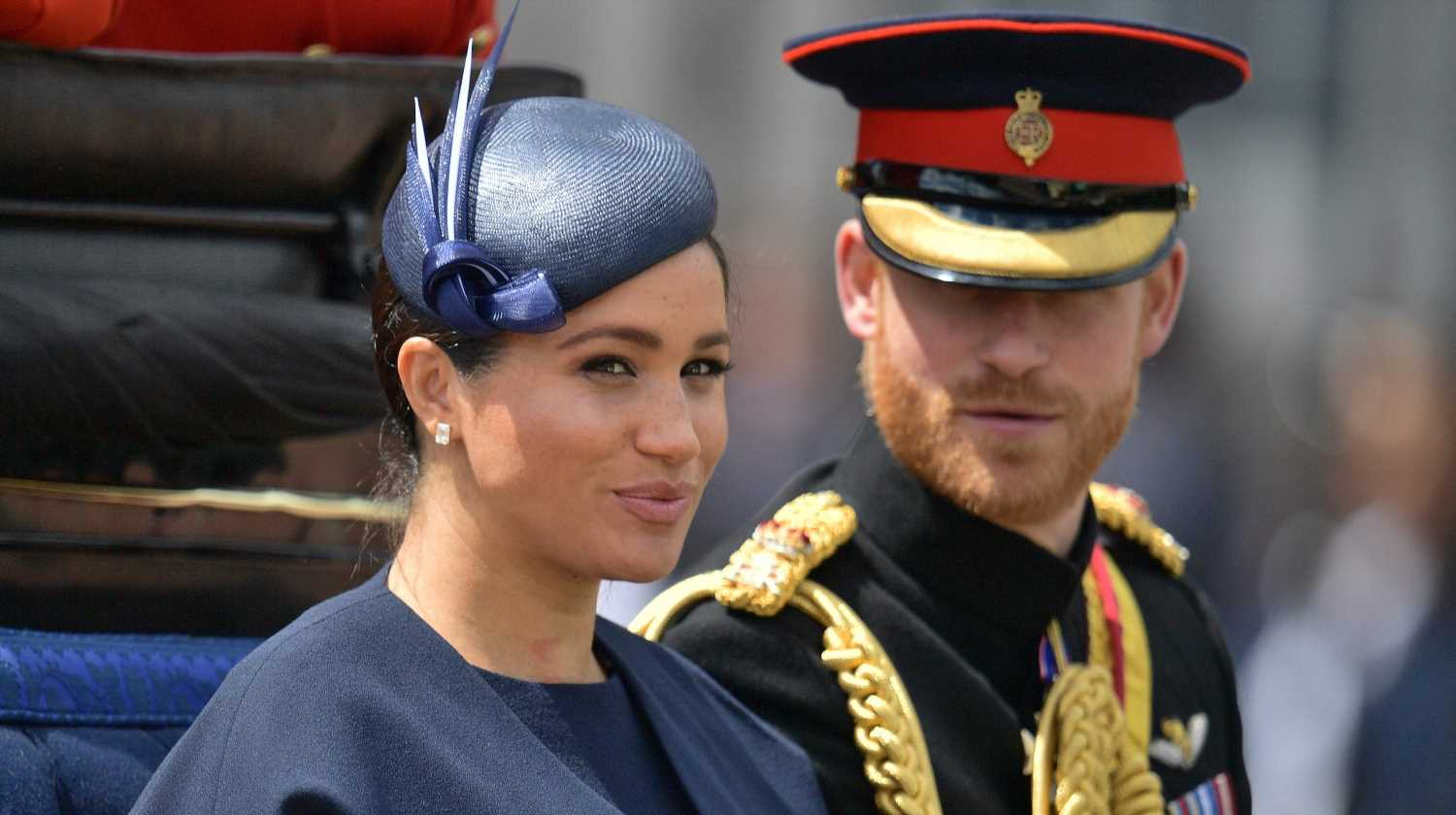 Duchess Meghan attends Trooping the Colour after skipping Trump visit, Prince Louis makes balcony debut