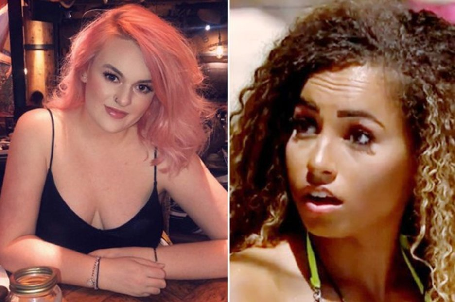 Love Island Amber branded 'a cow' by X Factor babe
