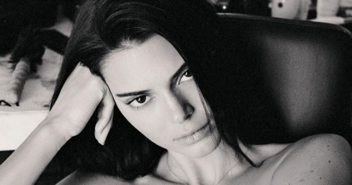 Kendall Jenner strips naked and bares all to talk about acne struggles
