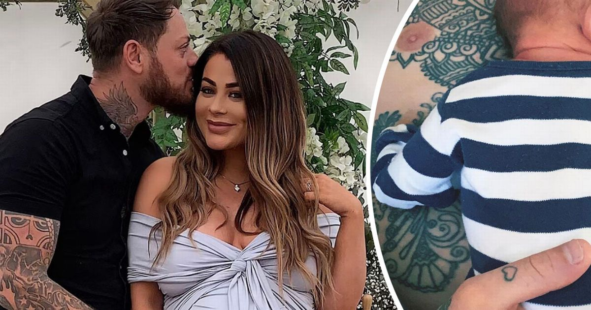 Love Island winner Jessica Hayes shares FIRST look at baby son after welcoming child with partner Dan Lawry