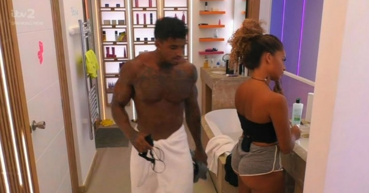 Love Island's Michael caught looking at Amber's bum after savagely dumping her