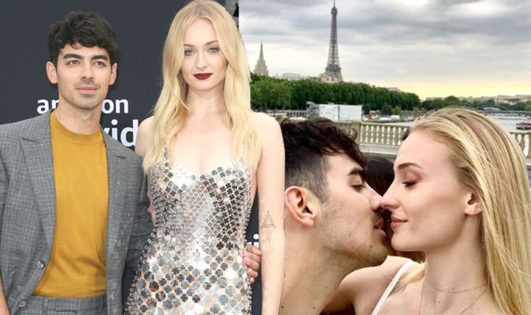 Sophie Turner and Joe Jonas wedding: Newlyweds share FIRST picture from French ceremony