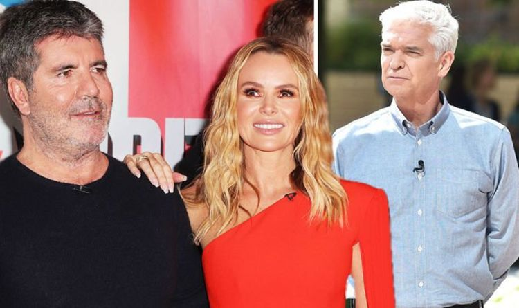 Simon Cowell: 'I respect her' Star sides with Amanda Holden in Phillip Schofield 'feud'