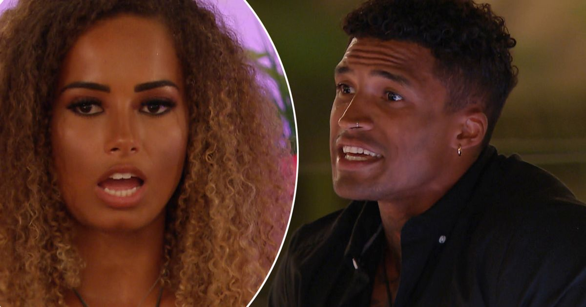 Love Island fans DIVIDED over Michael Griffiths and Amber Gill – as drama erupts in villa after he recouples with Joanna Chimonides
