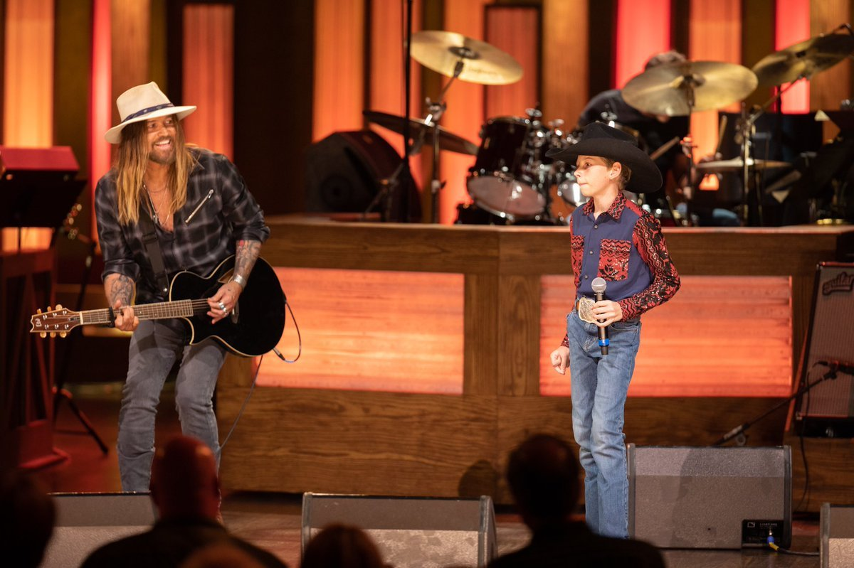 Watch Billy Ray Cyrus and Mason Ramsey Perform 'Old Town Road'
