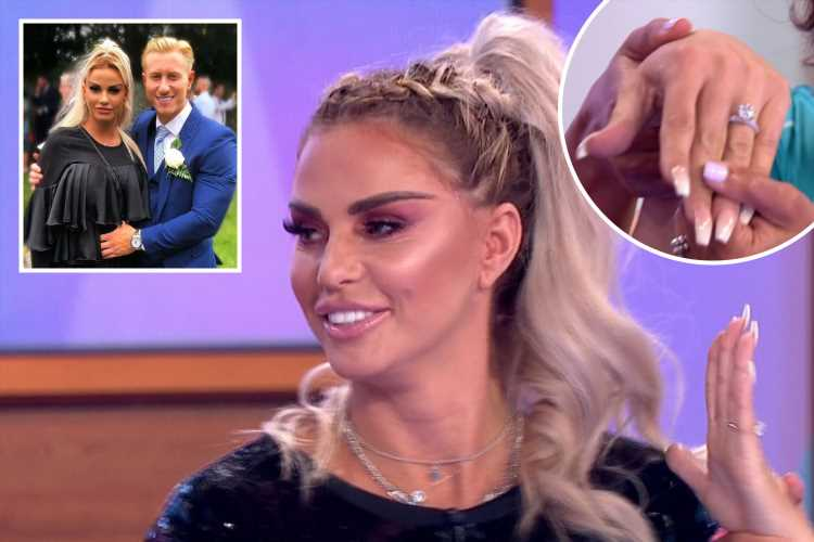 Katie Price reveals she's engaged to Kris Boyson live on Loose Women