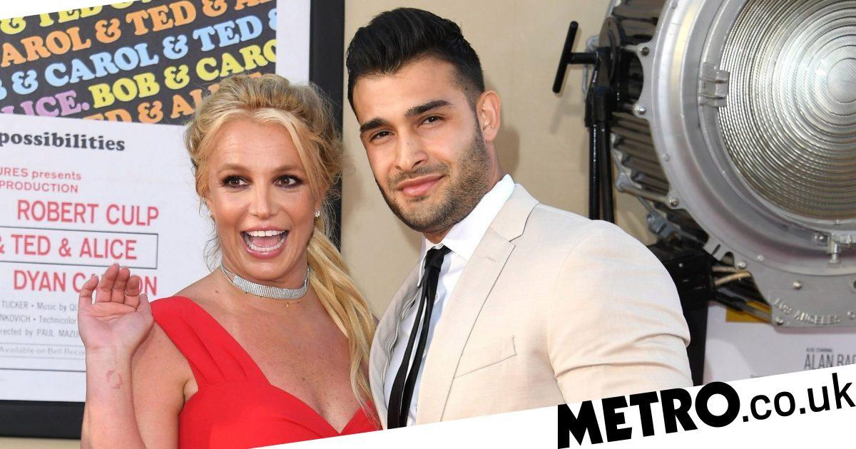 Britney Spears makes loved up first red carpet appearance with Sam Asghari
