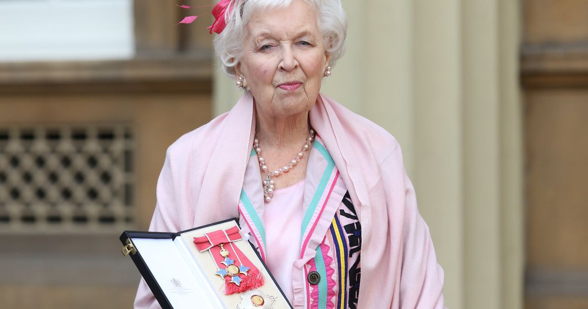 The incredible amount late Ab Fab legend June Whitfield left in her will