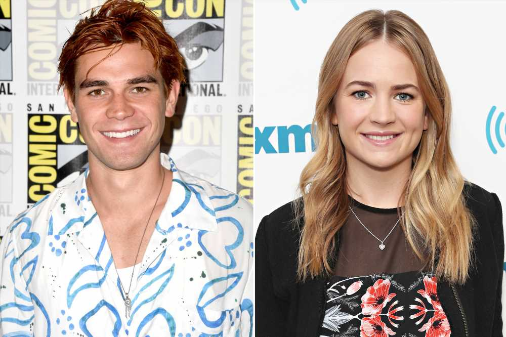 Riverdale's KJ Apa and Britt Robertson Seen Kissing and Holding Hands at Comic-Con Party