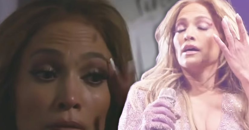 J-Lo Left Bloodied and in Tears After Smacking Herself in the Face With Her Own Microphone