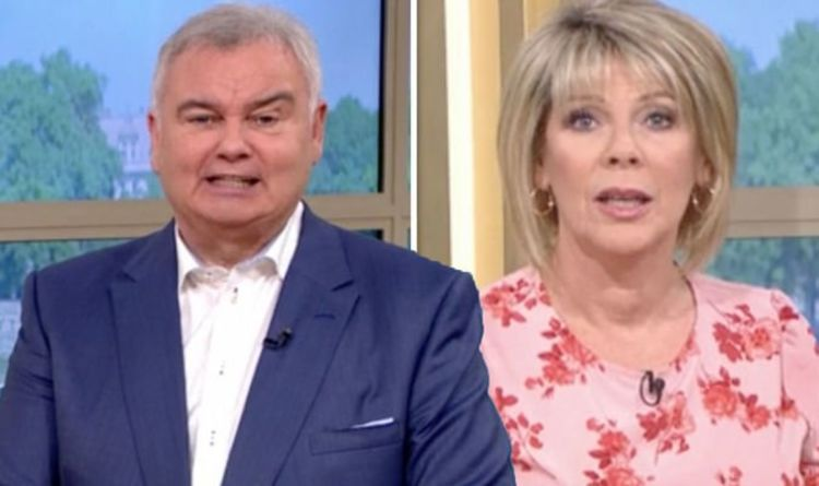 Eamonn Holmes: This Morning presenter criticises wife Ruth Langsford as 'useless'