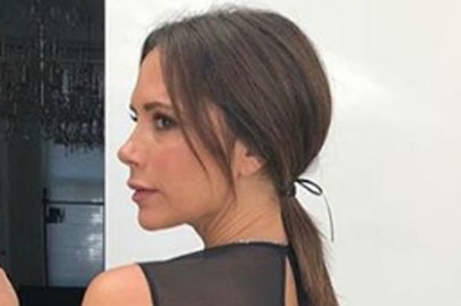 Victoria Beckham shows off incredible figure in stringy red bikini on date with David