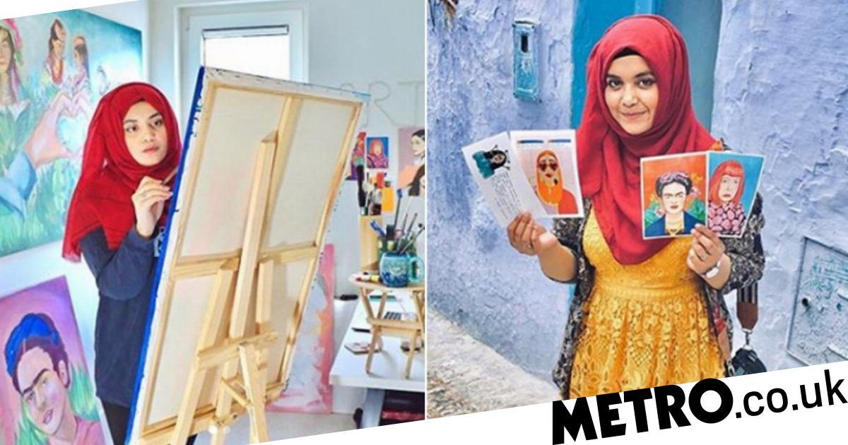 Student paints 50 extraordinary women for new book, including Malala