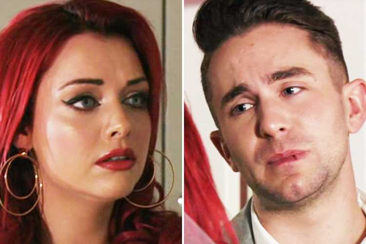 EastEnders fans in tears as Callum Highway tells fiance Whitney Dean he cheated on her with Ben Mitchell