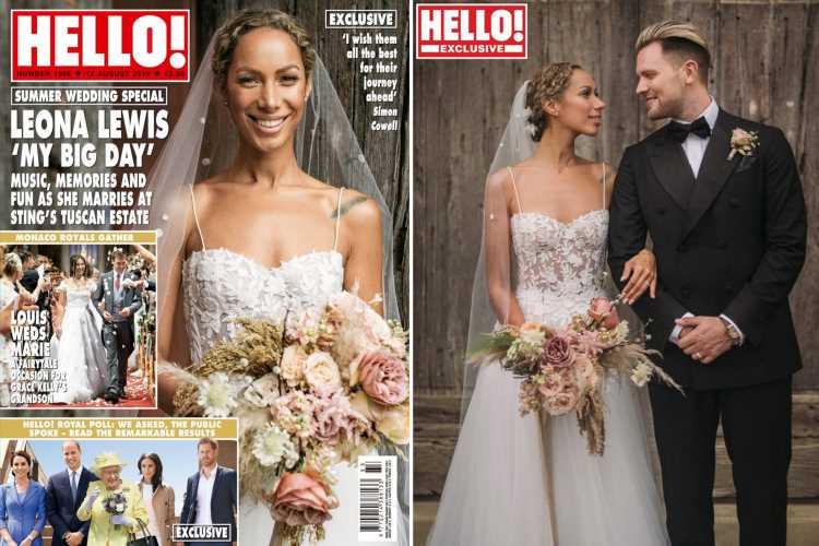 Leona Lewis tied the knot with Dennis Jauch in a vegan Buddhist wedding at Sting's Italian estate – The Sun