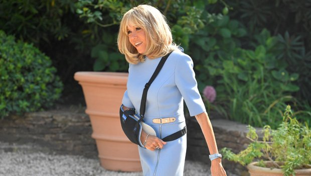 Brigitte Macron, 66, Photographed For 1st Time Since Rumors She Had Cosmetic Surgery In France