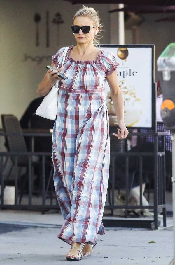 Summer Chic! Cameron Diaz Steps Out in Beverly Hills On Her 47th Birthday