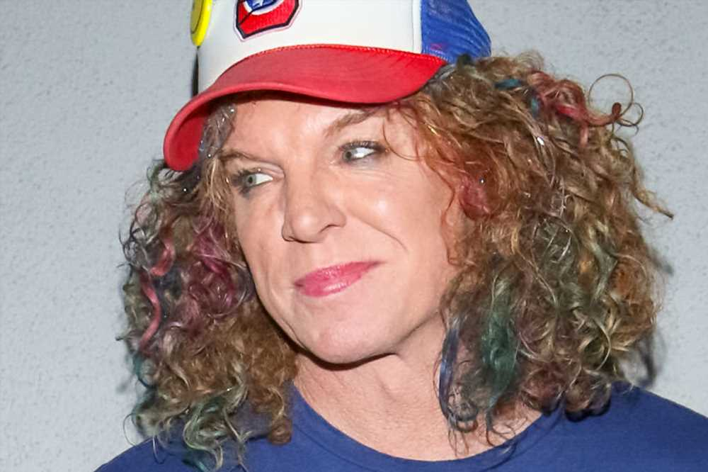 Carrot Top rocks a colorful hairstyle and more star snaps