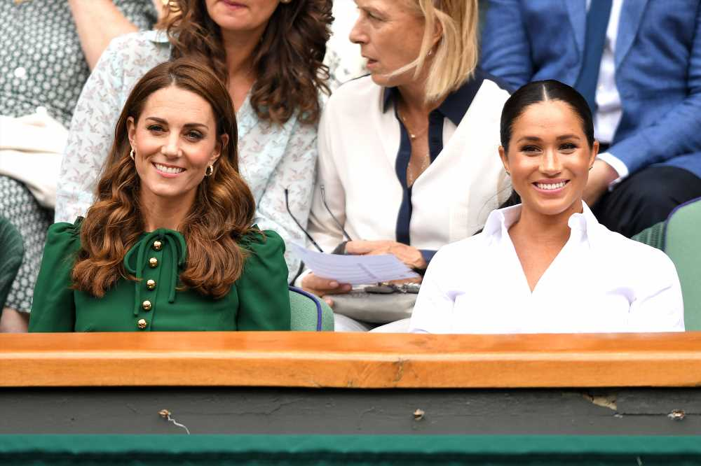 Meghan Markle Holds a Magazine Featuring Sister-in-Law Kate Middleton — Years Before They Met!