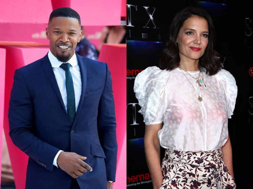 Jamie Foxx Wouldn't Stop Flirting With Other Women While Dating Katie Holmes!