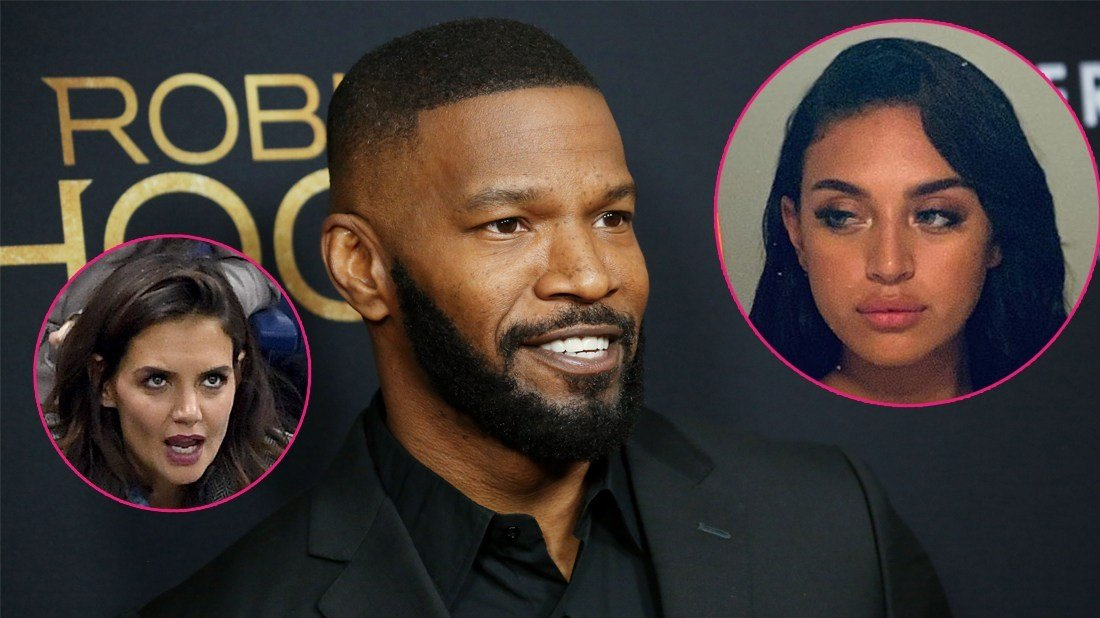 Jamie Foxx's Hot Model 'Basically Living' At His Home, Source Claims
