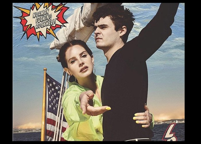 Lana Del Rey Reveals Release Date For 'Norman F**king Rockwell'