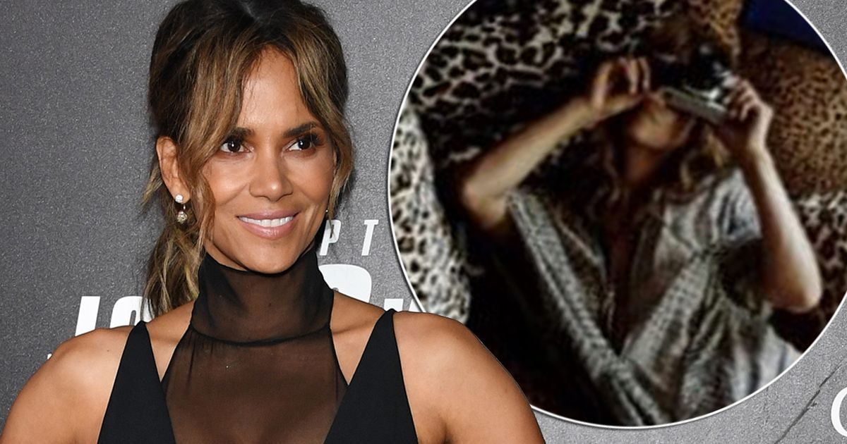 Halle Berry, 53, sizzles in completely bottomless snap for red-hot reveal