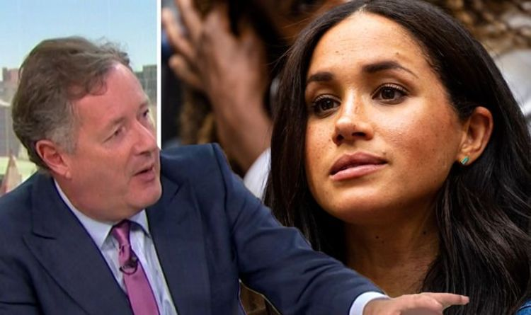 Meghan Markle taunted by Piers Morgan for winning social climber title 'she's worked hard'