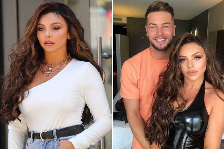 Chris Hughes calls girlfriend Jesy Nelson 'the best role model on the planet' after she speaks out about suicide bid