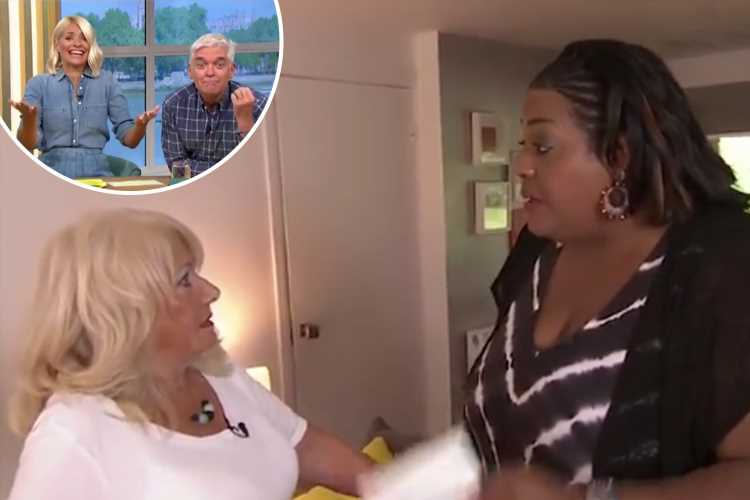 Holly Willoughby tells Alison Hammond off as she pronounces Maura Higgins' name wrong twice – The Sun