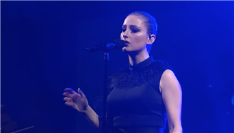 Watch Banks' Emotional Performance of 'Contaminated' on 'Colbert'