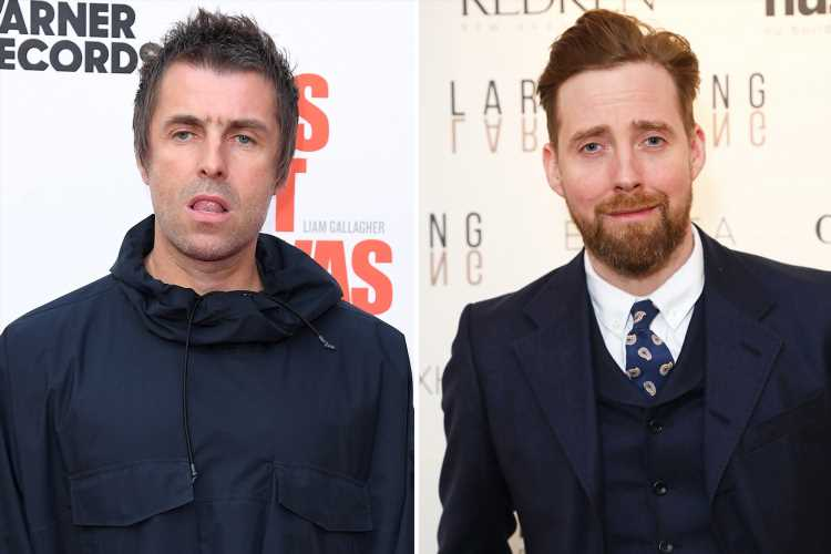 Liam Gallagher sparks furious feud with Kaiser Chiefs frontman Ricky Wilson – attacking him online and labelling him a 'naff c***' – The Sun